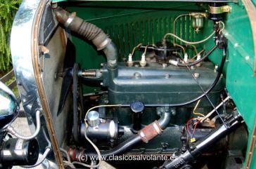 El motor desarrolla una potencia de 40 caballos a 2.200 rpm. y un par motor de 173 Nm a 1.000 rpm.