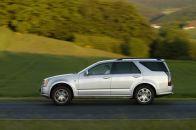 Con 2,96 metros, el Cadillac SRX tiene una de las distancias entre ejes más amplias de su clase, proporcionando un espacio trasero para las piernas excepcional.