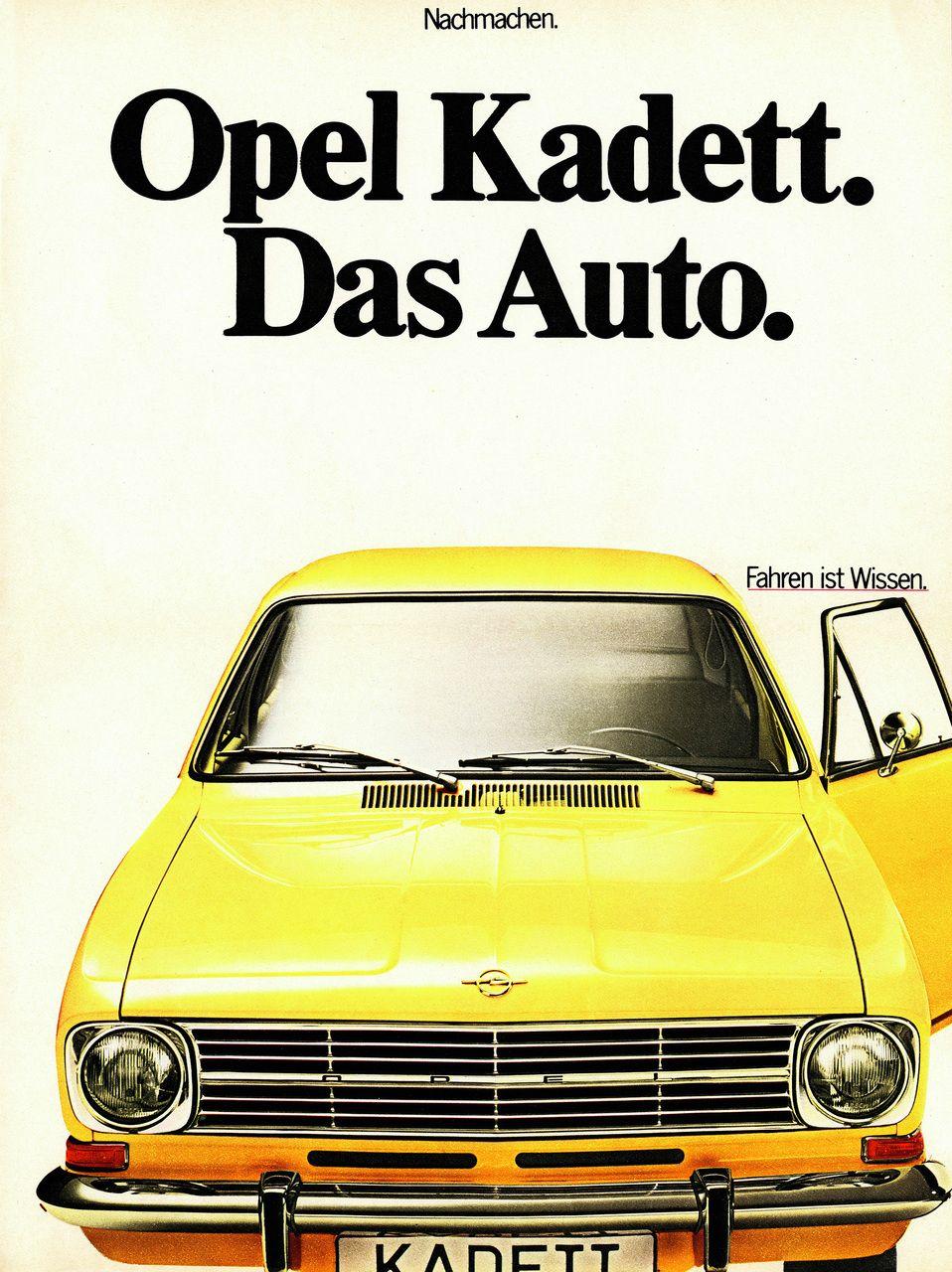 Mejorando Constantemente 50 Anos De Sedanes Compactos De Opel