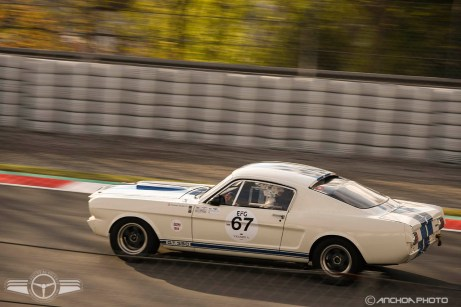 Un Ford Mustang Shelby GT 350 del 66