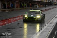 Otro monstruo de la categoría GT, un Aston Martin DBR9 de 2007.