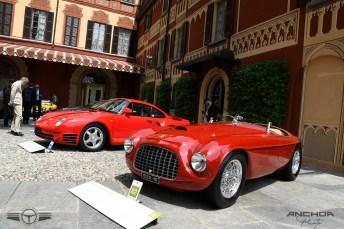 La mítica barqueta Ferrari 166 MM Touring de 1949.