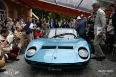 Un Lamborghini Miura que perteneció al cantante Little Tony.