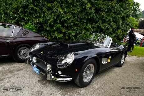 El Ferrari Spyder California que perteneció a Alain Delon después de una meticulosa restauración.