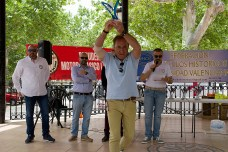 Premio al mejor clásico deportivo: otorgado al Ford Mustang Mach I de Vicente Valladolid.