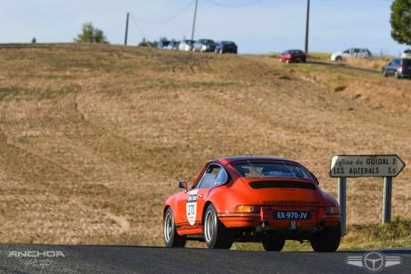 Trasera de un Porsche 911 ST de 1973