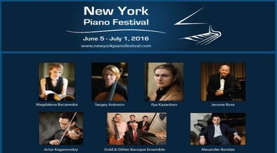 Festivalul de Pian din New York şi-a anunţat programul de concerte şi masterclass-uri