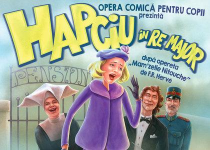 Prima operetă la Opera Comică pentru Copii: 'Hapciu în RE major'