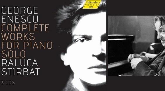 """""""George Enescu – Integrala creaţiei pentru pian solo"""", CD-ul săptămânii la Radio Klassik Viena"""
