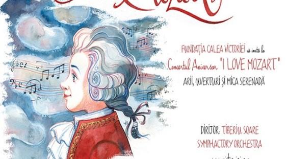I LOVE MOZART / Concert de gală sub bagheta dirijorului Tiberiu Soare