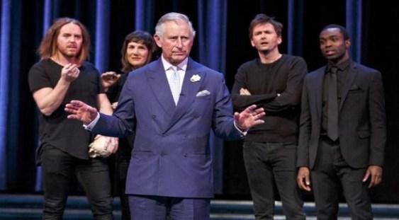 Prințul Charles a rostit celebra replică hamletiană în spectacolul 'Shakespeare live!'