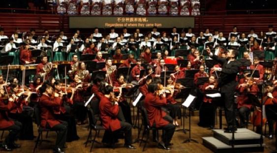 Pentru prima dată o orchestră simfonică din China cântă în România