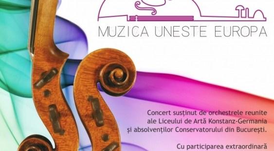 'Muzica uneşte Europa' – concert la Teatrul 'Elisabeta'