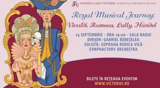 Royal Musical Journey: Concert de gală de muzică barocă