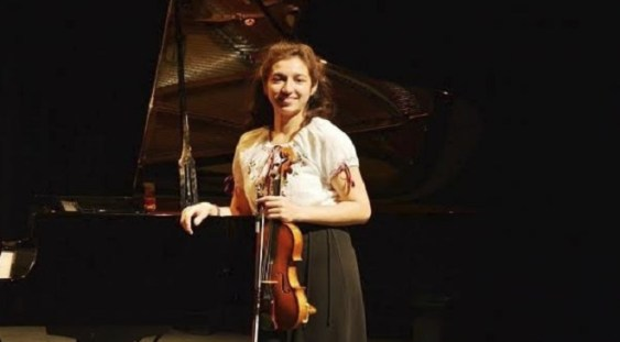 Violonista Adriana Cristea prezentă la International Holland Music Sessions