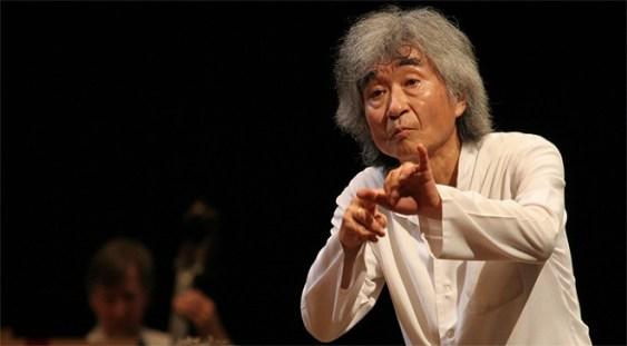Seiji Ozawa a sărbătorit împlinirea celor 80 de ani pe scenă