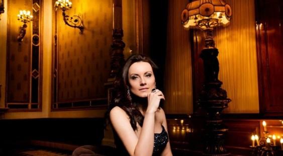 Soprana Anita Hartig, într-un concert cu casa închisă la Bistrița