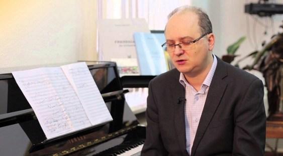 Dan Dediu îşi prezintă propria creaţie la Academia de Muzică şi Dans din Ierusalim