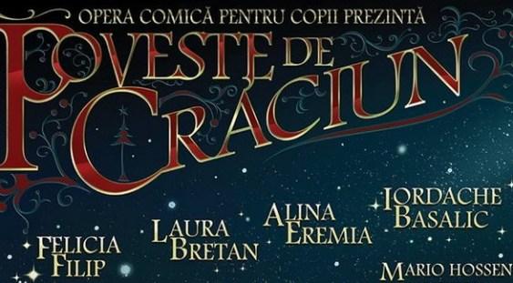 Concertul de Crăciun al Operei Comice pentru Copii