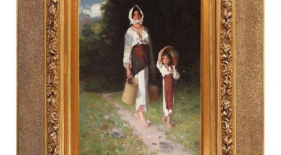 Cea mai importantă pictură de Grigorescu, licitată între 90.000 şi 160.000 de euro