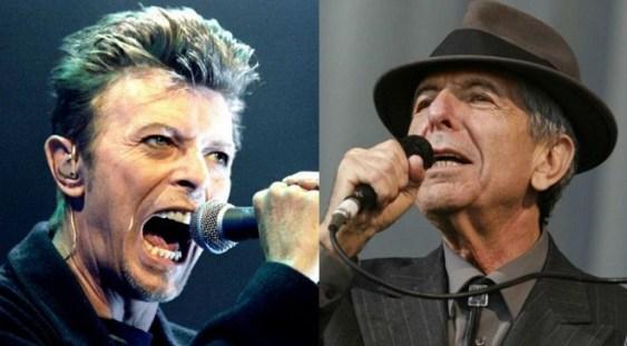 David Bowie şi Leonard Cohen au fost nominalizaţi postum la premiile Brit Awards