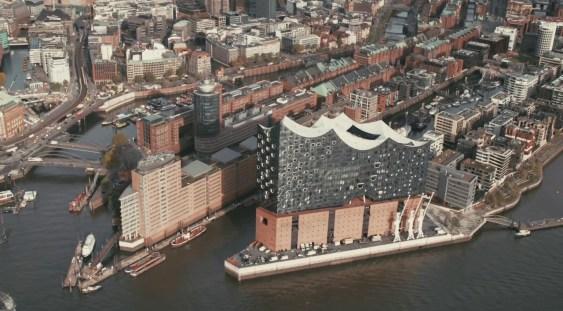 Filarmonica din Hamburg, o minune a arhitecturii moderne