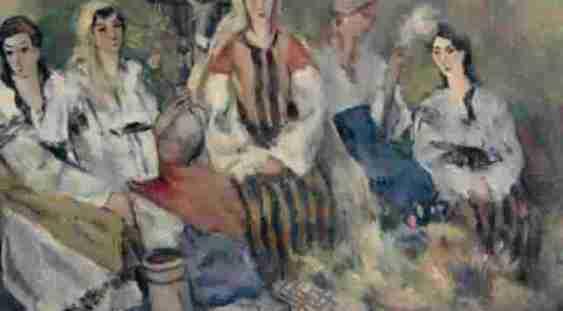 Colecţie de pictură românească, expusă în premieră la Muzeul Colecţiilor de Artă