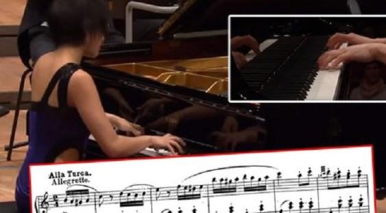 VIDEO: Yuja Wang uimește publicul cu o improvizație la Mozart