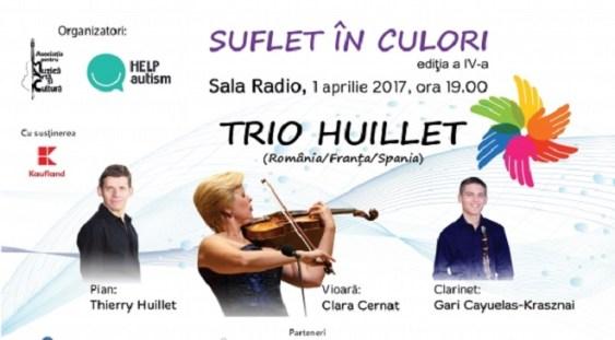 """""""SUFLET ÎN CULORI"""" – concert caritabil în beneficiul copiilor cu autism"""