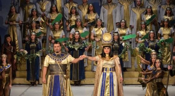 """Opera Națională Română Timișoara aniversează 70 de ani de la deschiderea primei stagiuni, cu opera """"Aida"""""""