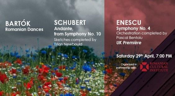 Premiera londoneză a Simfoniei a IV-a enesciene, în această seară la Radio Clasic România
