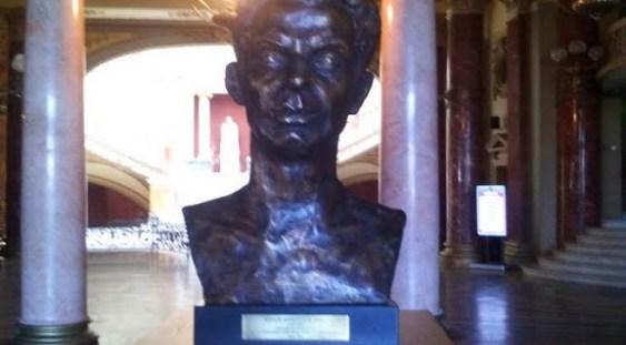 Bustul lui Mihai Brediceanu, dezvelit la Ateneul Român
