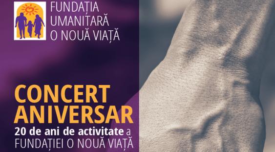 Concert aniversar – Fundația O Nouă Viață la București