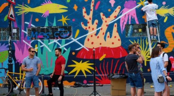 Street Delivery: trei zile de artă urbană