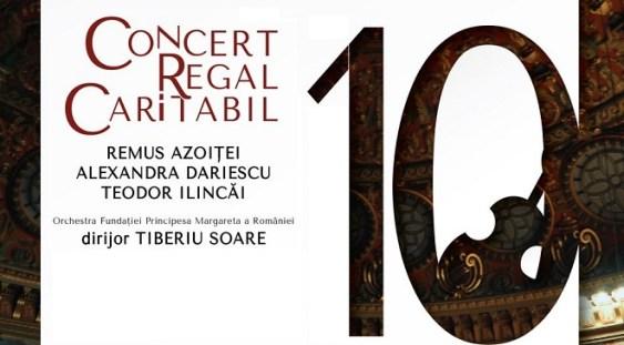 Concert regal caritabil la Ateneul Român, de ziua Majestății Sale Regelui