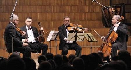 Cvartetul Voces, recital la Sala Radio