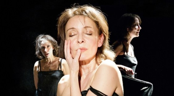 """Regal artistic la TNB: """"Vivien Leigh: Ultima conferinţă de presă""""."""