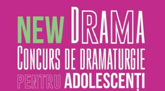 Adolescenţii sunt invitaţi să se înscrie cu piese în concursul New Drama, organizat de Teatrul Excelsior