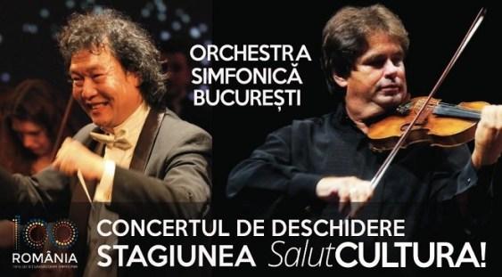Orchestră Simfonică București își prezintă în premieră stagiunea într-o sală de cinema