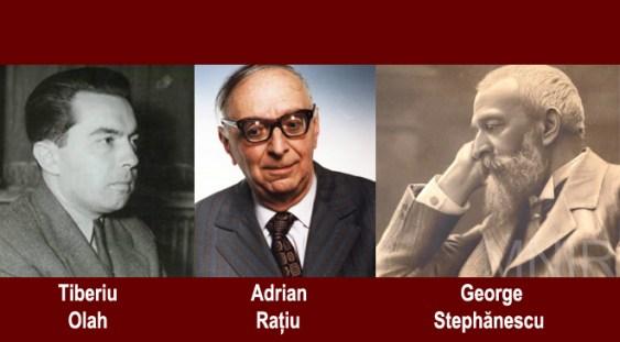 Mari compozitori români: Anatol Vieru, Tiberiu Olah, George Stephănescu, Adrian Rațiu