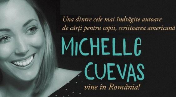 Scriitoarea americană Michelle Cuevas vine în România