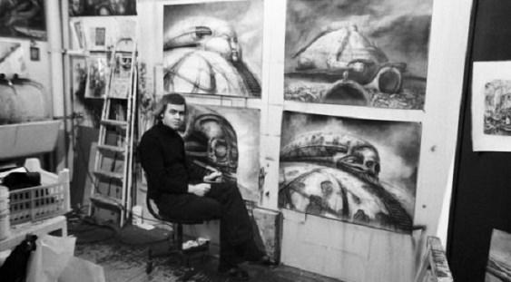 """Sibiu: Lucrări de H.R. Giger, creatorul """"Alien"""", expuse în premieră europeană la Muzeul de Artă Contemporană"""