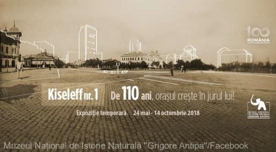 """Expoziţia """"Kiseleff nr. 1. De 110 ani, oraşul creşte în jurul lui!"""""""