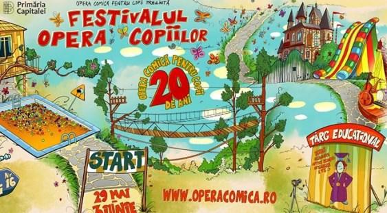 Opera comică pentru copii sărbătoreşte 20 de ani de la înființare cu șase zile de spectacole
