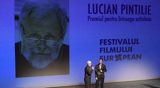 Lucian Pintilie, distins de ICR la Gala de lansare a Festivalului Filmului European
