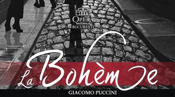 """Opera """"La Bohème"""", pe scena Operei Naționale București"""