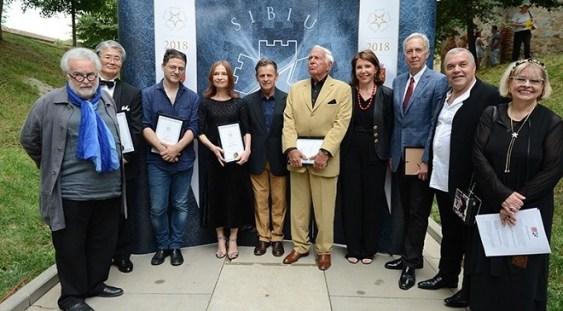 Sibiu: Isabelle Huppert a primit o stea pe Aleea Celebrităţilor