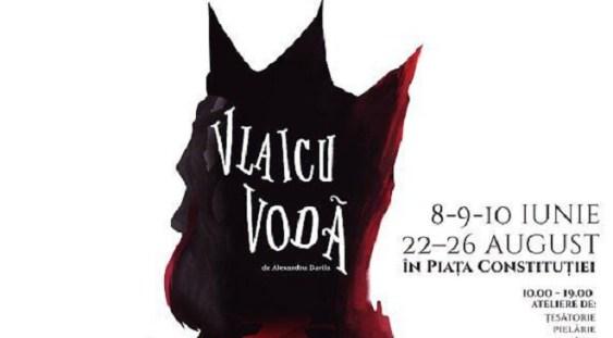"""Spectacolul """"Vlaicu Vodă"""" – în Piaţa Constituţiei"""