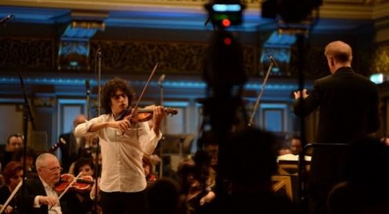 Concurs 'Enescu': Premiul I nu s-a acordat la secţiunea Vioară; doi italieni – locurile II şi III