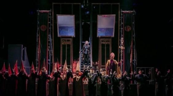 """Opera """"Nabucco"""", în regia lui Rareş Zaharia, aplaudată în Germania"""
